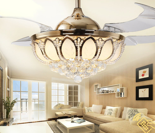 Three Colors LED Ceiling Light With Invisible Fan in   Huicheng District