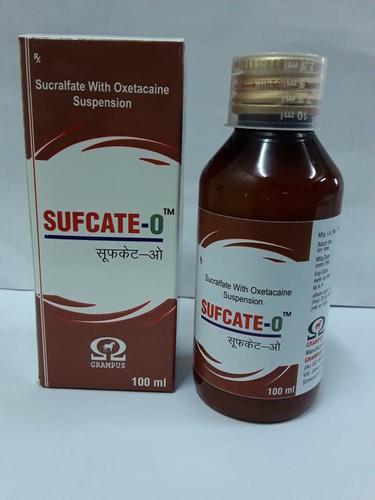 Sucralfate with Oxetacaine Suspension