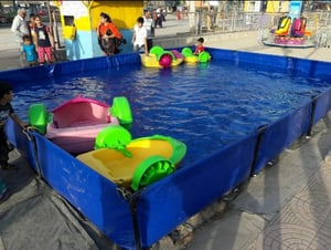 Durable Swimming Pool Paddle Boat For Kids