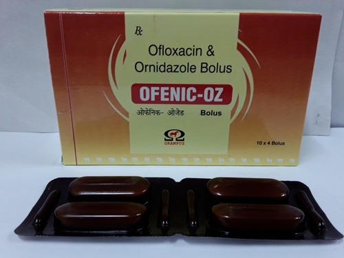 Ofloxacin And Ornidazole Bolus