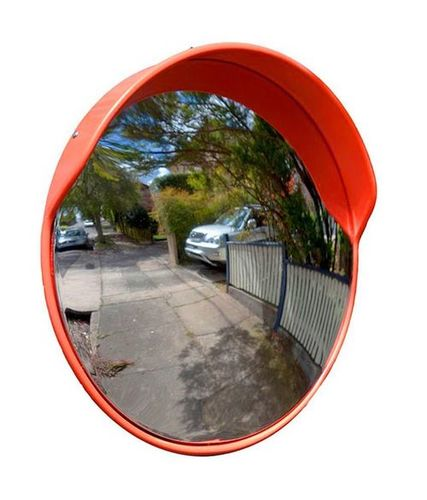Convex Mirror For Roadway Safety