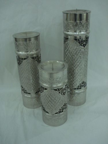 Candle Holder Set Of 3 Pieces