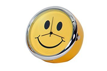 Desktop Mini Smiley Clock