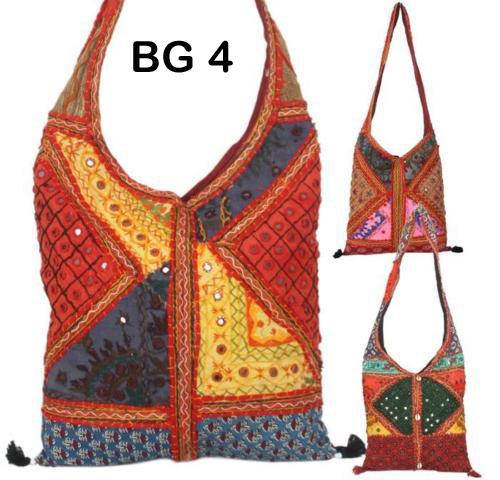Vintage Embroidered Shoulder Bag Bg4