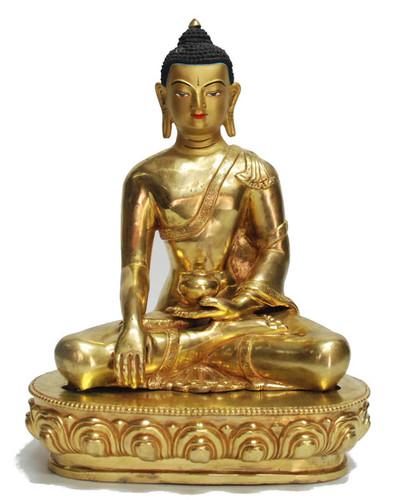 Indian Craftio Pure Brass Lord Buddha Statue