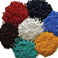 Recycled Colored Plastic Granules