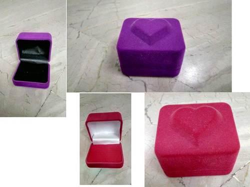 Jewellery Ring Box Heart Shape in  Chandni Chowk