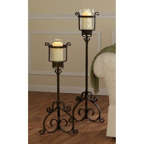 Decorative Metal Candle Holder Stand