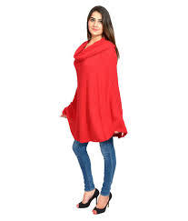Sleeveless Boat Neck Poncho Cape Top in  Jalandhar Bye Pass
