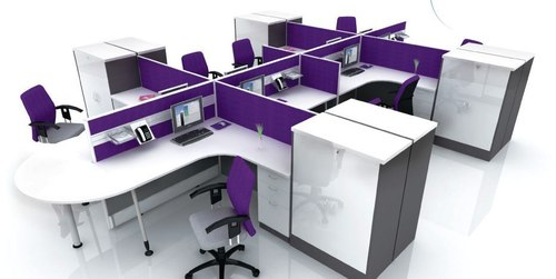 50mm Panel Based Curve Workstations