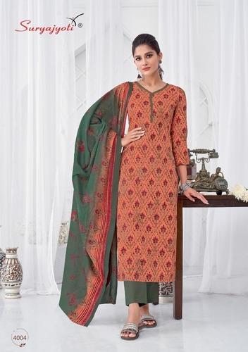 Bela Eminent Designer Cotton Printed Salwar Suit