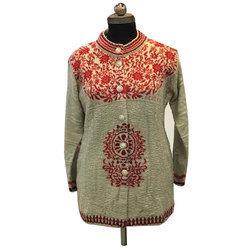 3ebdfa956222b4 Ladies Designer Woolen Sweater in Ludhiana