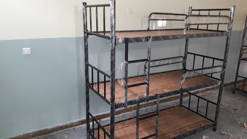 Three Tier Bunk Bed In Bengaluru Karnataka Am Steel Furniture