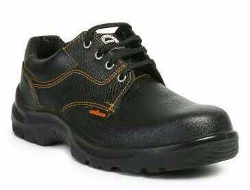 Mens Black Color Safety Shoes