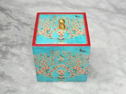 Glossy Enamel Wooden Box