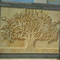 3d Carving Wall Mural
