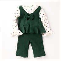Stylish Green Top and Pant Set