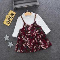 Stylish Top and Pinafore Set