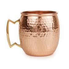 Moscow Mule Copper Hammered Cups
