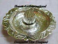 Silver Decorative Designer Diya