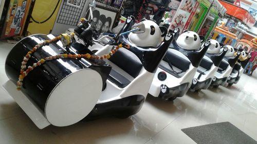 Battery Operated Panda Train