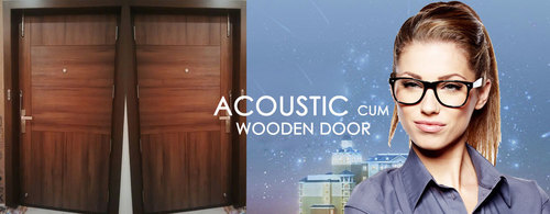 Acoustic Cum Wooden Door