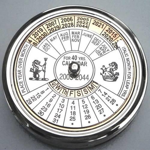 Antique Calendar Compass