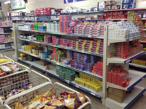 Supermarket Departmental Racks