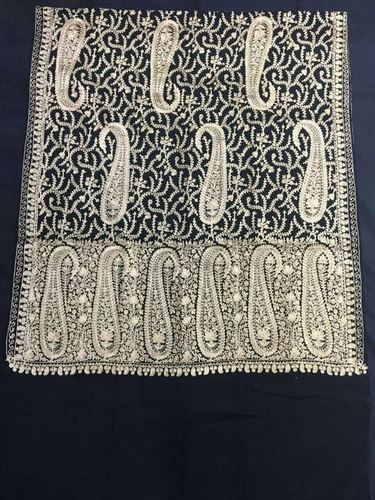 Wool Kashmiri Embroidered Stoles