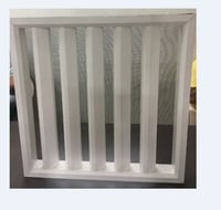 UPVC Louvers( Fence) with Mosquito Net