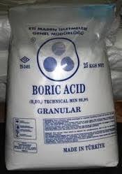 Boric Acid (H3bo3)