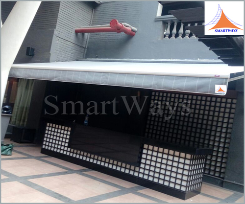 Retractable Awning For Bar Counter