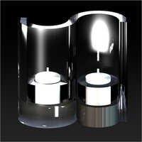 S Shape Candle Holder