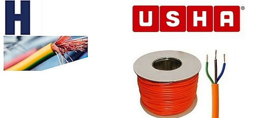 Usha Pvc Insulated Copper Flexible Cable (1 Mm 2 Core) Warranty: Standard