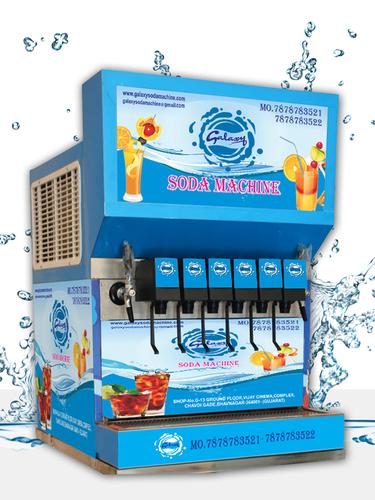 Automatic 6+2 Soda Fountain Machine