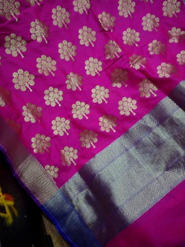 Banarasi Silk Dupatta in   Chohra Jaitpura