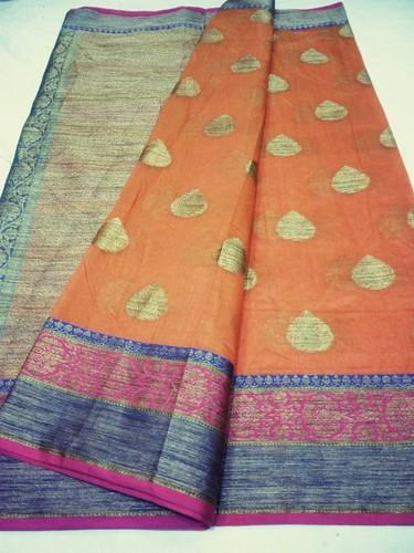 Cotton Designer Saree in   Chohra Jaitpura