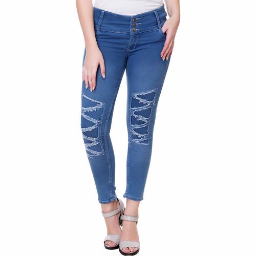 Ladies Z Damage Jeans