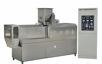 Snacks Extruder Twins Screw Extruder Certifications: Ce