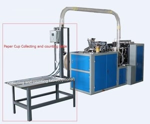 Paper Cup Counting Machine