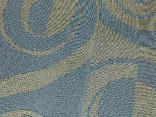 100-Wy09403-Art Jacquard Curtain Fabric