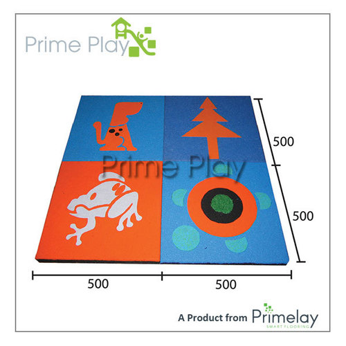 EPDM Anti Slip Playground Rubber Tiles