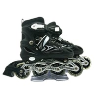 Adjustable Professional Retractable Flashing Wheels Inline Skate Roller Shoes With CE