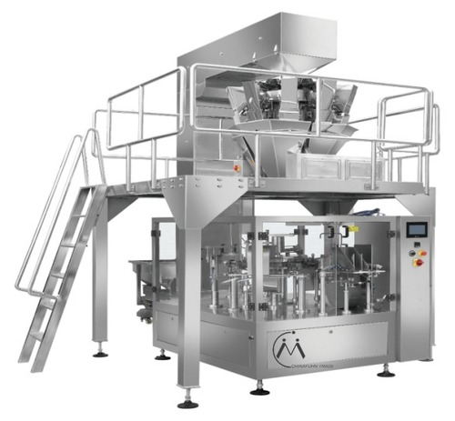 Grains And Block Products Measuring And Packaging Production Line