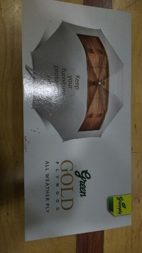 Green Gold Plywood