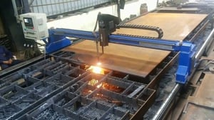 Industrial CNC Oxy Fuel Profile Cutting Services