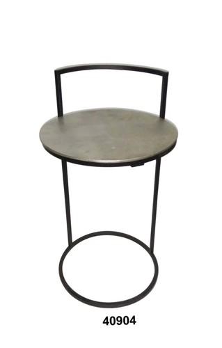 Iron Chair With Aluminium Top