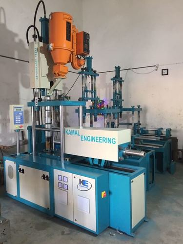 Semi Automatic Vertical Injection Moulding Machine