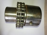 Unidirectional Flexible Roller Chain Coupling