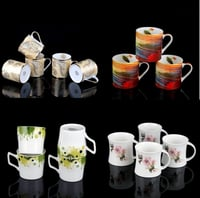 Designer Bone China Coffee Mugs